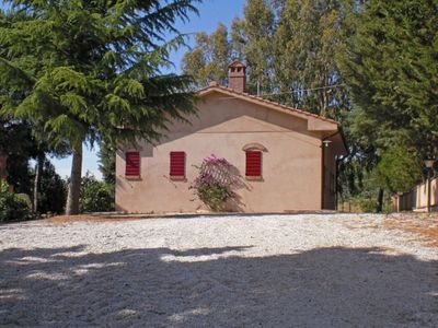 Photo for Villa in Castagneto Carducci with 2 bedrooms sleeps 6