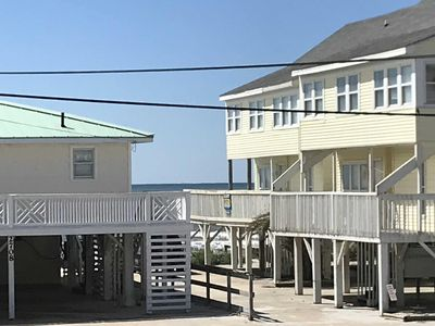 Photo for (Ocean View) Beautiful Couples Retreat a few steps from the Ocean