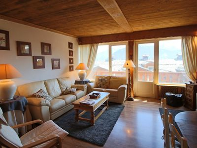 Photo for Apartment 85 m² - 3 bedrooms - Center of Courchevel 1850 - Near slopes