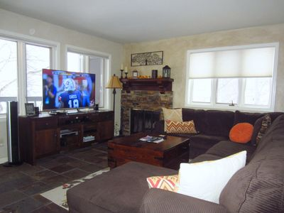 Photo for Vail- 3BR, 3Bath, Beautiful, Great Views, Pool, Hot Tub, Free Bus Line