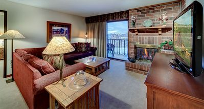 Photo for Bear Claw 316: 3 BR / 2 BA condo in Steamboat Springs, Sleeps 8