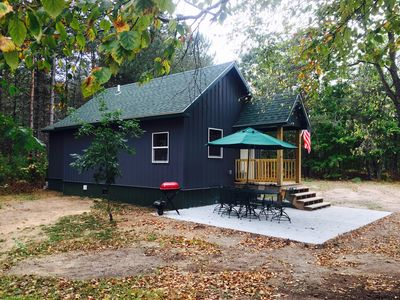 """Photo for """"Camp Garno"""" Is Newly Built Cabin In The Woods! Enjoy Trails/Hunting/Relaxing!"""