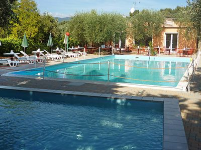 Photo for One bedroom Apartment, sleeps 4 in Imperia with Pool, Air Con and WiFi