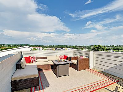 Photo for New Listing! Brand-New Home w/ Rooftop Deck - Minutes to Downtown