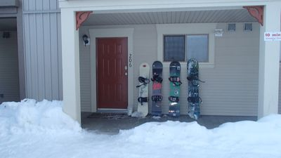 Photo for 2 Bedroom Walk Out Unit With Ski In/Ski Out Access - Pet Friendly Too!