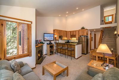 Living Room - Welcome to Truckee! This home is professionally managed by TurnKey Vacation Rentals.