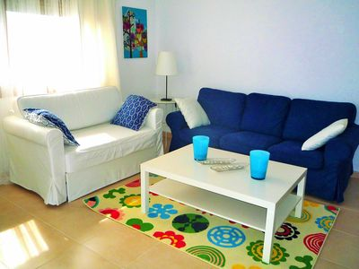 Photo for Apartment with sea views, with pool and private parking