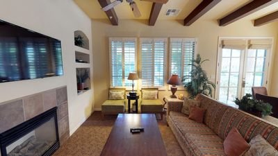Photo for A Single Story Two Bedroom, Two Bathroom Villa Near the Main Pools and Gym!