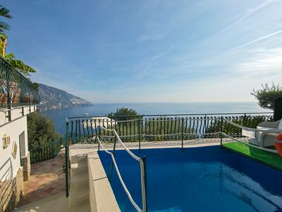 Photo for 2 bedrooms, 1 bathroom with Jacuzzi shower, private pool with terrace