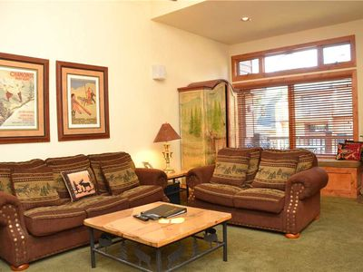 Photo for Cedars Townhomes: 2 BR / 2.5 BA townhome in Breckenridge, Sleeps 8