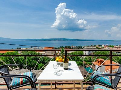 Photo for Holiday apartment Crikvenica for 2 - 4 persons with 2 bedrooms - Multistorey holiday home/maisonette