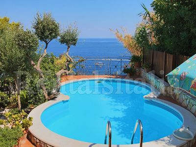 Photo for Beautiful 2 floors Villa Private Pool and Sea View,6 bedrooms,WiFi,SEAFRONT!