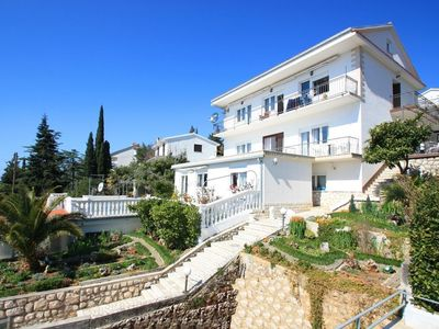 Photo for Holiday apartment Studio 50 m to the beach with satellite TV, terrace and sea view