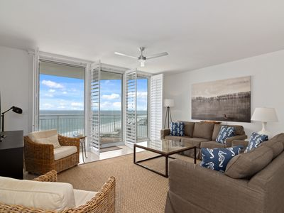 Photo for Newly Updated 3BR/3BA Gulf Front Luxury Condo