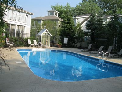 Photo for Villa with Association pool, 2 blocks from Lake Mich
