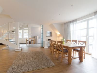 Photo for Admiralskoje, luxurious duplex apartment centrally located and close to the beach in Warnemünde