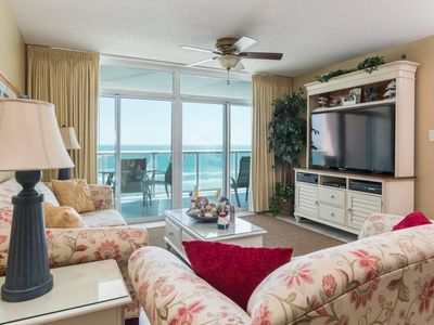 Photo for Beautiful 3 bedroom condo with a great ocean front view. | Blue Water Keyes -  603