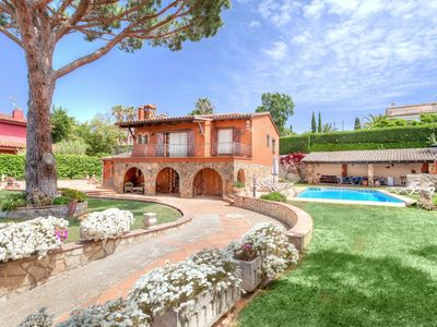 Photo for This 6-bedroom villa for up to 12 guests is located in Sant Antoni De Calonge and has a private swim
