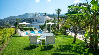 Photo for Villa Romeo with Sea View, Private Pool, Garden and Parking