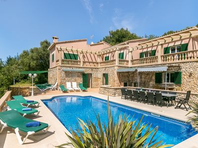 Photo for Finca Na Bagassa (011130) - Country house for 18 people in Capdepera