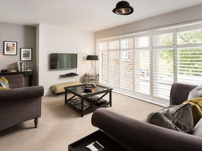 Photo for NEW!!! 5* stunning 2 bedroom apartment 3 mins to York Minster and City. Parking.