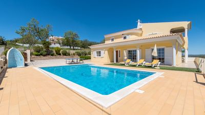 Photo for Big Villa magnificent panorâmic view to sea 10 minutes from the Beach, Vilamour