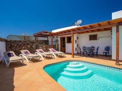 Photo for Charming Villa with Pool, Winter Garden, Beautiful Landscaping & Wi-Fi; Pets Allowed