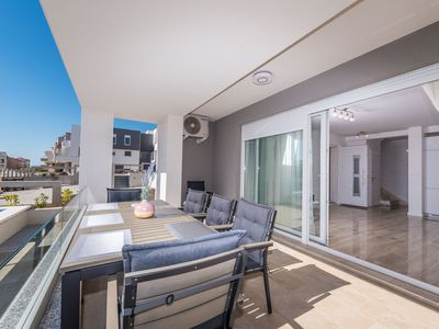 Photo for Luxury Duplex Residence with Terrace and Sea View