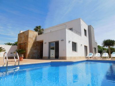 Photo for Luxury 3 bedrooms 3 bathroom Modern style Villa with private pool