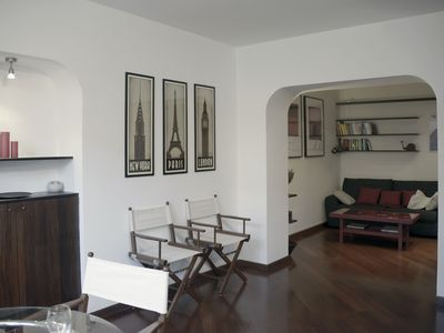 Photo for Delicious roomed apartment in the heart of Genoa.