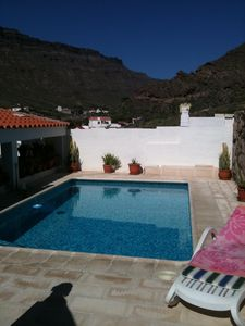 Photo for Very quiet house, pool, terrace and sea views