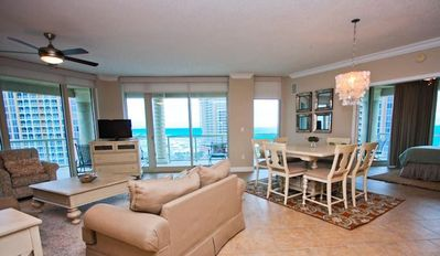 Photo for Wonderful 3BR Elite Rated Skyhome with Sweeping Gulf and Island Views