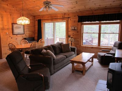 Photo for Fly-Fishing Cabin — Upper Manistee River — Grayling, Michigan