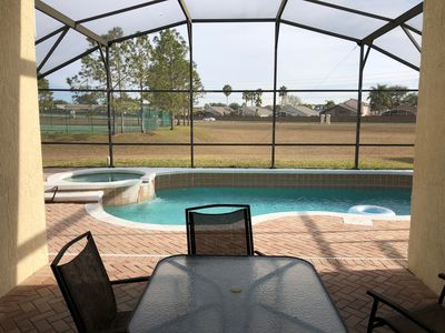 Outdoor Table & Pool