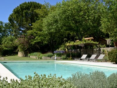 Photo for La Rourette: spacious house, stunning views, large swimming pool