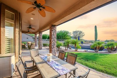 Patio - The beautiful scenery includes unobstructed views of Las Sendas Golf Course.