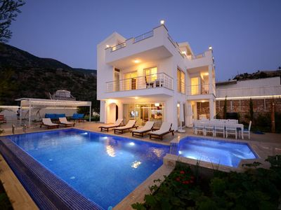 Photo for Villa Kalkan Dream is a brand new, luxury home, located in an elevated position offering spectacular