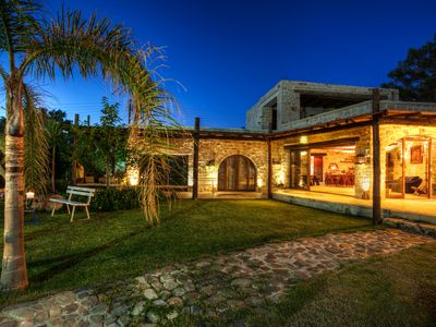Photo for Villa Minoa With Small Private Beach And Surprising Sea and Mountain Views