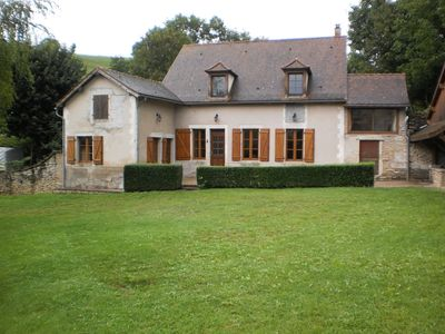 Photo for Cottage in Burgundy in a beautiful restored farmhouse in the Morvan (Saulieu)