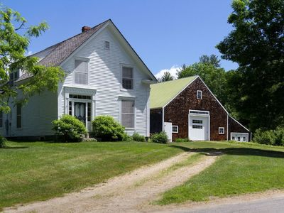 Photo for Greek Revival farmhouse with modern amenities