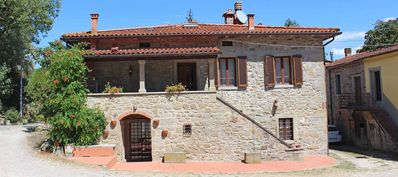 Photo for CASA MAZINO, typical Tuscan villa with 4 bedrooms and 4 bathrooms. Perfect for children.