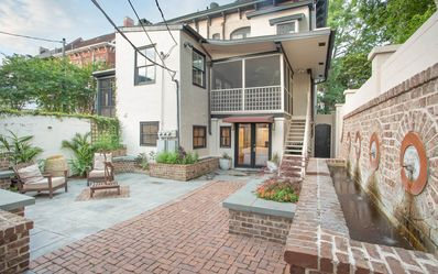 Photo for Stay Local in Savannah: Cozy Garden Apartment with Huge Courtyard!