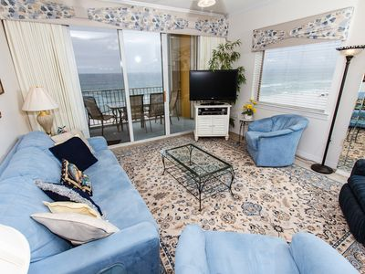 Photo for Gulf Dunes 617: Phenomenal end unit! LCD TV  WIFI, FREE BEACH SVC