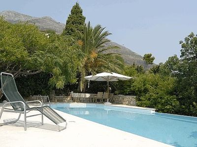 Photo for Private Infinity Pool, Sea Views And A Lucious Garden