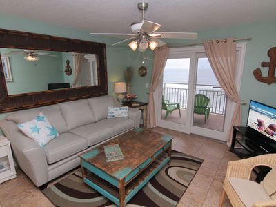 Photo for Your Beach Home Away From Home! Direct Oceanfront on No Drive Beach
