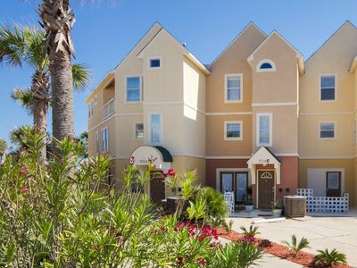 Photo for ❤ BEACH FRONT 🌴 BEACH SERVICE - 3 Story 4bed/3.5b- Large Family & Pet Friendly