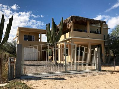 Photo for Large home walking distance to best beaches and restaurants in La Ventana