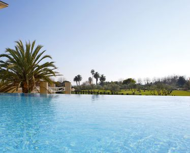 Photo for FROND DE MER: Large T2 with terrace, swimming pool and 150 m sand beach