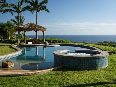Photo for WEST MAUI ESTATE, 8 BEDROOMS, ENDLESS OCEAN  & MOUNTAIN VIEWS, POOL, HOT TUB