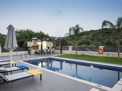 Photo for House in the center of Almyrida with Internet, Pool, Air conditioning, Parking (488706)